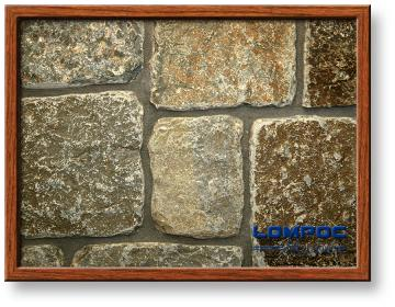 Click for a Large Photo of Autumn Creek Petite Tumbled European Castle Thin Veneer